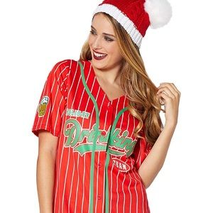 Unisex Holiday Xmas Party Drinking Team Jersey NWT